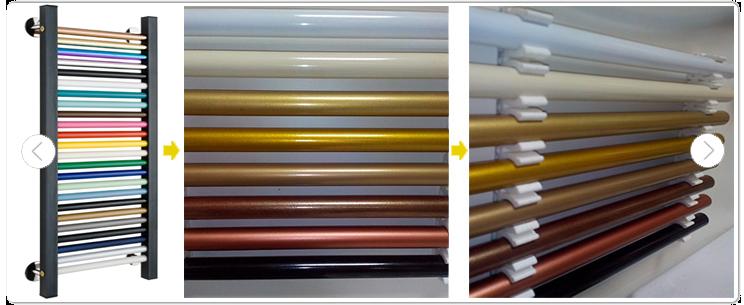 Фото цветные полотенцесушители