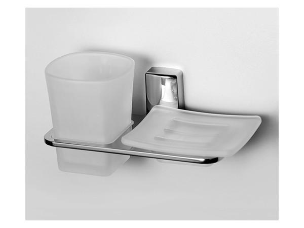 Фото 710: Держатель стакана и мыльницы WasserKRAFT К-5026