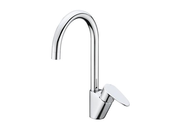 Фото 4203: Смеситель для кухни с поворотным изливом Wasserkraft Leine 3507