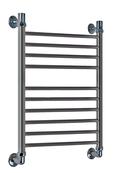 Водяной полотенцесушитель Акванерж Прямая Lux 800x500 черный
