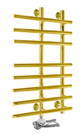 Электрический полотенцесушитель Aquanerzh Модерн 3 золото (левое подключение)