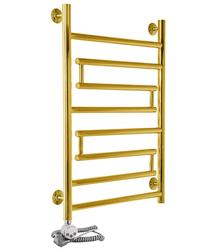 Электрический полотенцесушитель Акванерж LZ Модерн золото (левое подключение)