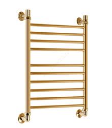 Водяной полотенцесушитель Акванерж Прямая Lux 800x500 золото