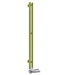 Электрический полотенцесушитель Aquanerzh Вертикаль бронза (правое подключение)