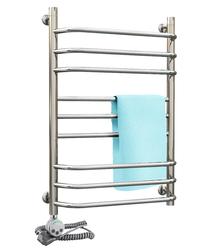 Электрический полотенцесушитель Акванерж Трапеция прямая групповая 800x500 (левое подключение)