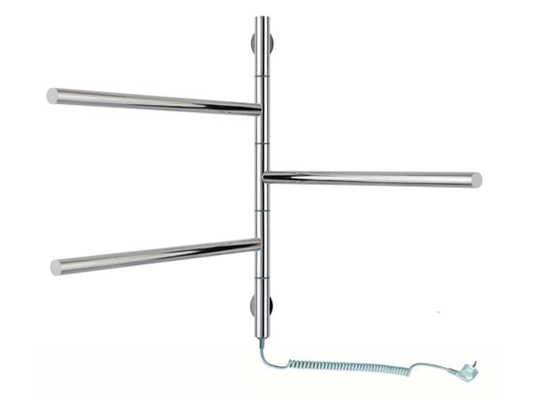 Электрический полотенцесушитель Aquanerzh I образный 80Вт 500x600