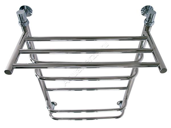 Электрический полотенцесушитель Aquanerzh скоба прямая с полкой (вид сверху)