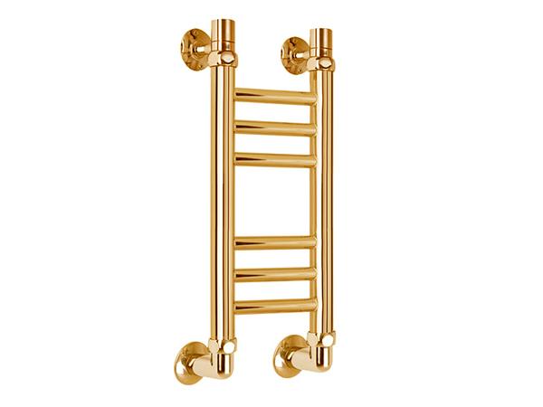 Водяной полотенцесушитель Aquanerzh Прямая групповая 500x150 золотой
