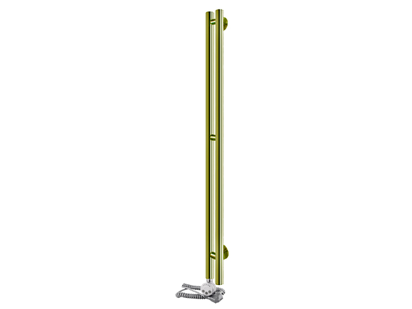 Электрический полотенцесушитель Aquanerzh Вертикаль бронза (левое подключение)