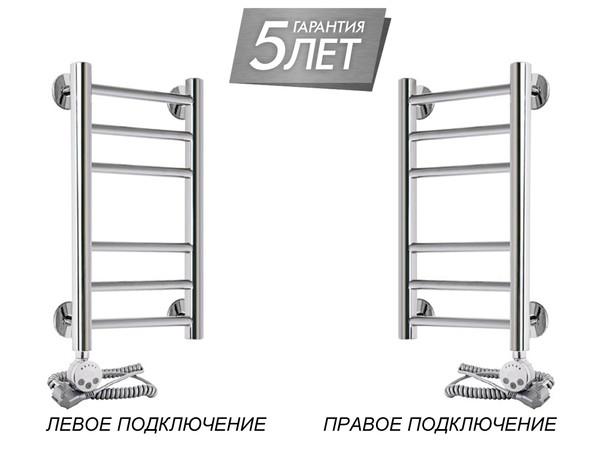 Электрический полотенцесушитель Акванерж прямая групповая 600x300