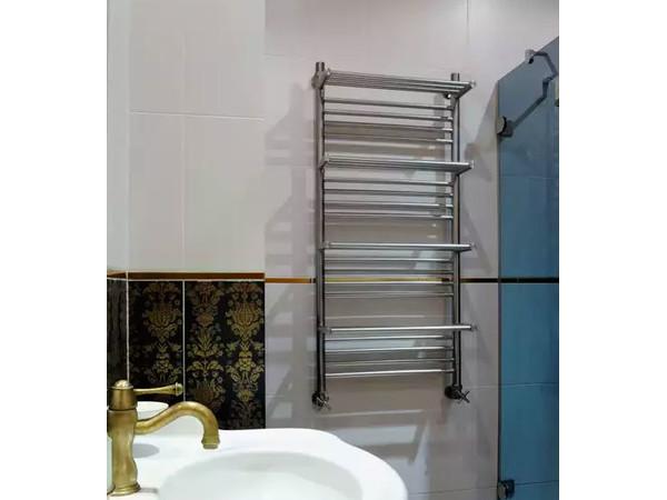 Фото 566: Электрический полотенцесушитель Сунержа Богема + 4 полки 1200x600