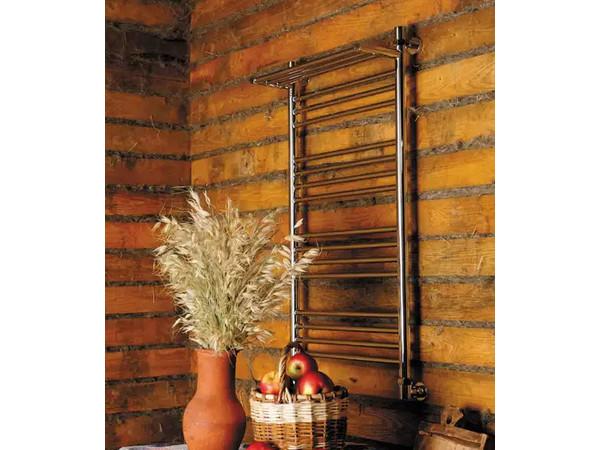 Фото 5351: Электрический полотенцесушитель Сунержа Богема + 4 полки 1200x600