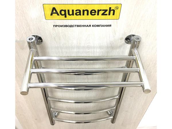 Водяной полотенцесушитель Акванерж Дуга с полкой 700x500 (интерьер_4)
