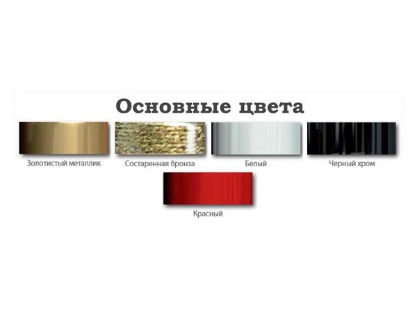 Водяной полотенцесушитель Акванерж Дуга с полкой 1000x500 (цветовая гамма)