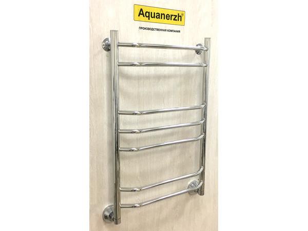 Водяной полотенцесушитель Акванерж Трапеция групповая 800x500