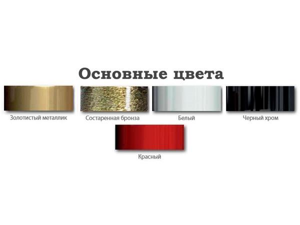 Водяной полотенцесушитель Акванерж Прямая групповая с полкой 700x400 (цветовая гамма)