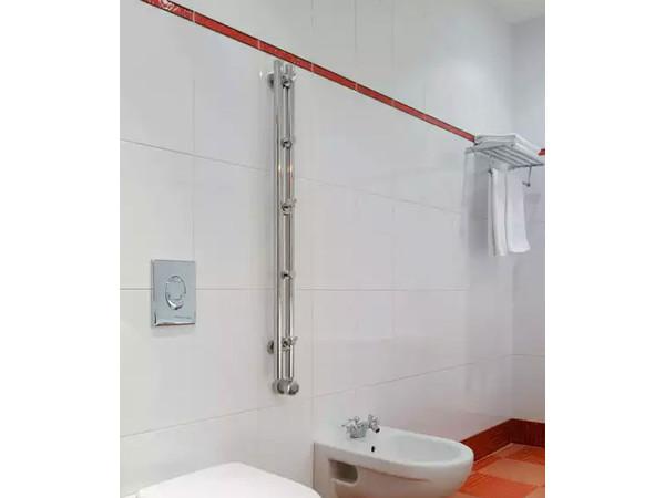 Фото 53: Электрический полотенцесушитель Сунержа Гротеск 1200x100