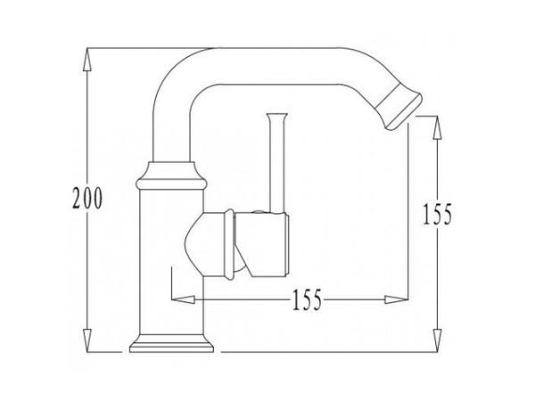 Смеситель для кухни Kaiser Merkur 26211 (схема)