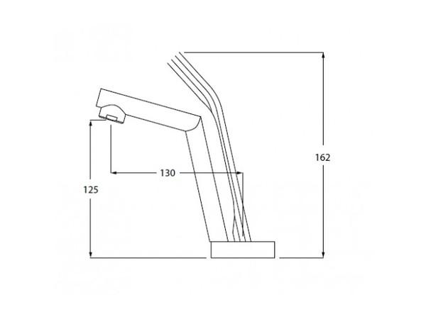 Смеситель для раковины Kaiser Mode 99111 (схема)