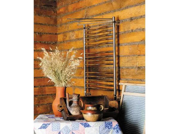 Фото 6263: Электрический полотенцесушитель Сунержа Флюид 600x600