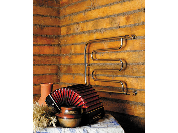 Фото 6511: Водяной полотенцесушитель Сунержа П-образный + 2 полки 320x500