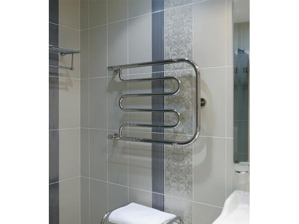 Фото 8062: Водяной полотенцесушитель Сунержа П-образный + 2 полки 500x400