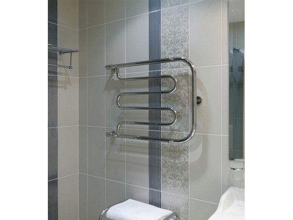 Фото 4118: Водяной полотенцесушитель Сунержа П-образный + 2 полки 320x500