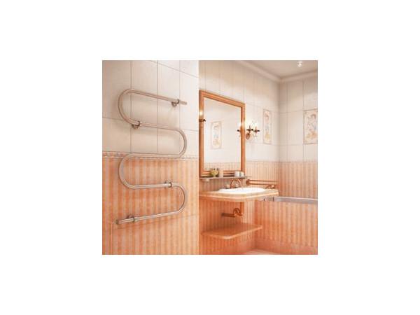 Фото 1619: Электрический полотенцесушитель Terminus Ш-образный 600x800