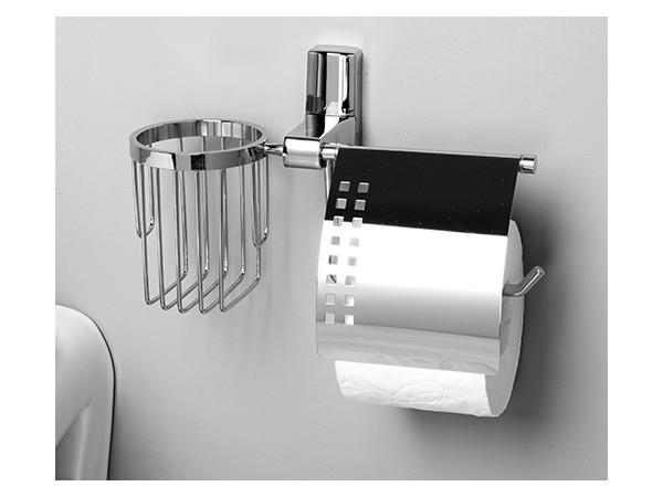 Фото 1343: Держатель туалетной бумаги и освежителя WasserKRAFT К-5059