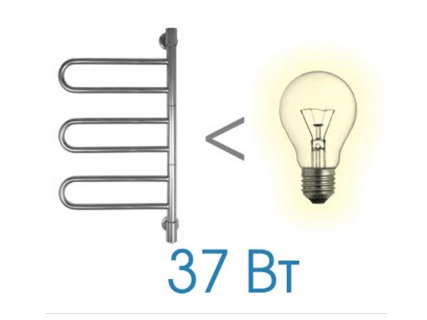 Фото 4283: Электрический полотенцесушитель Energy U chrome G3K 770x400