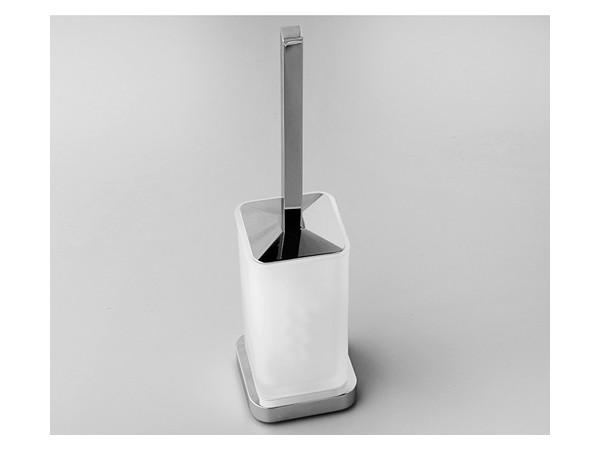 Фото 9385: Щетка для унитаза напольная WasserKRAFT К-1037