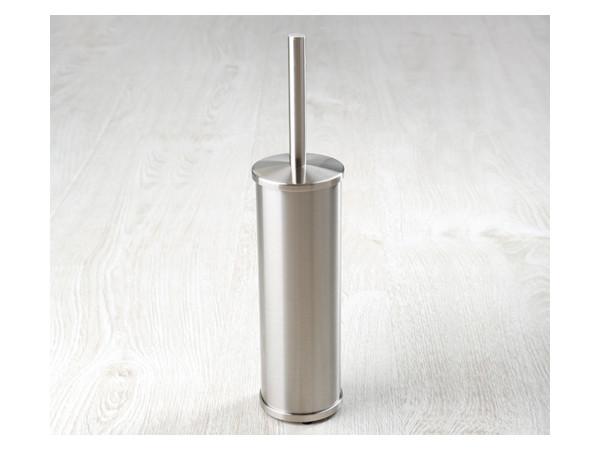 Фото 5799: Щетка для унитаза напольная матовый хром WasserKRAFT К-1047