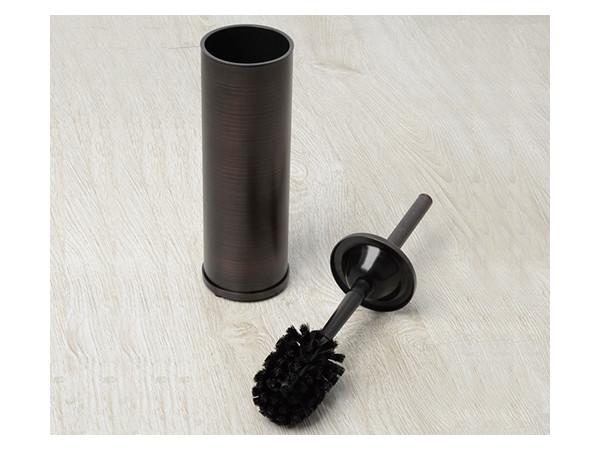 Фото 1878: Щетка для унитаза напольная темная бронза WasserKRAFT К-1097