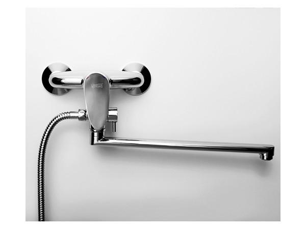 Фото 6139: Смеситель для ванны с длинным изливом Wasserkraft Leine 3502L