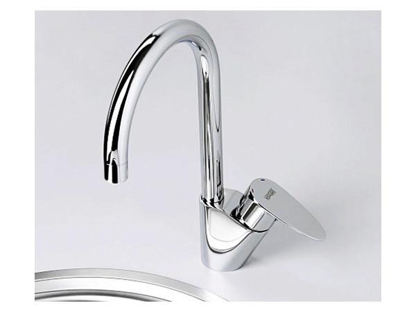 Фото 6574: Смеситель для кухни с поворотным изливом Wasserkraft Leine 3507