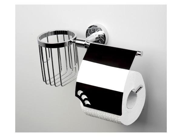 Фото 9237: Держатель туалетной бумаги и освежителя WasserKRAFT К-4059