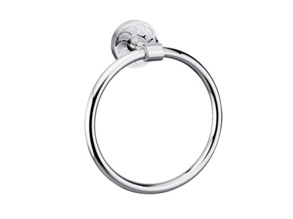 Фото 6073: Держатель полотенец кольцо WasserKRAFT К-4060