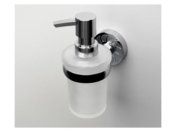 Фото 9280: Дозатор для жидкого мыла стеклянный WasserKRAFT К-4099