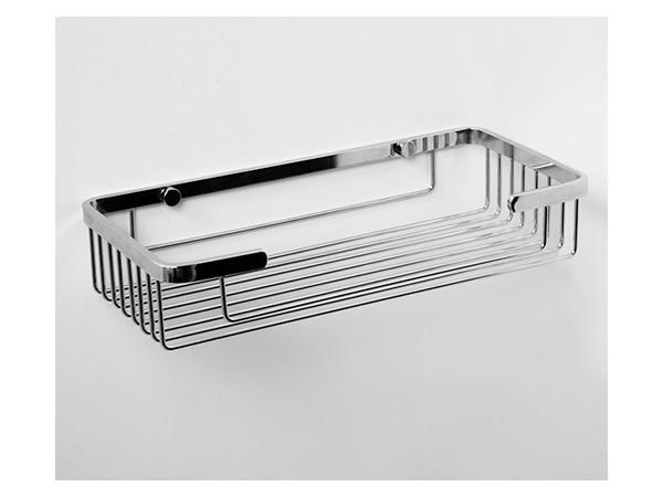 Фото 409: Полка металлическая прямая WasserKRAFT K-722